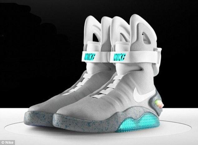 Self-Tying Shoes for Michael J. Fox